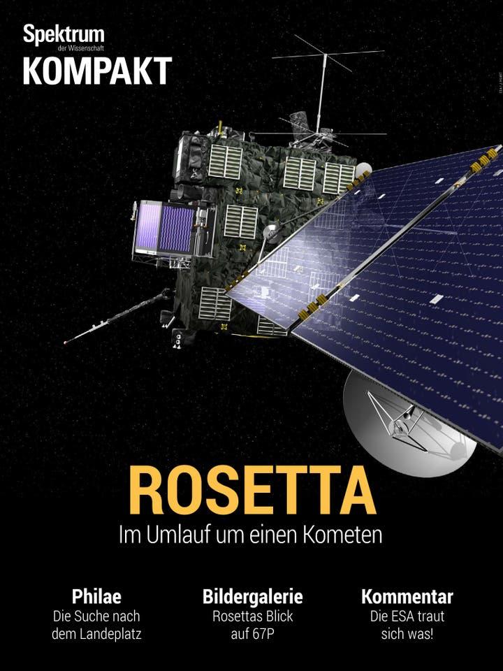 Rosetta - Im Umlauf um einen Kometen