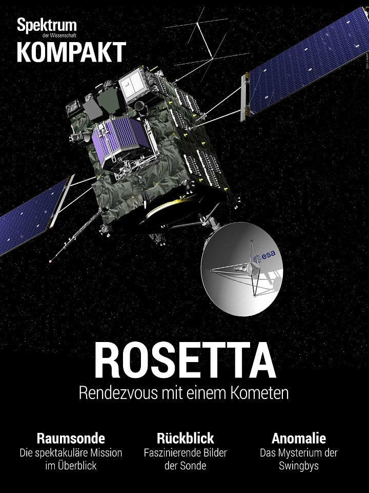 Spektrum Kompakt:  Rosetta – Rendezvous mit einem Kometen