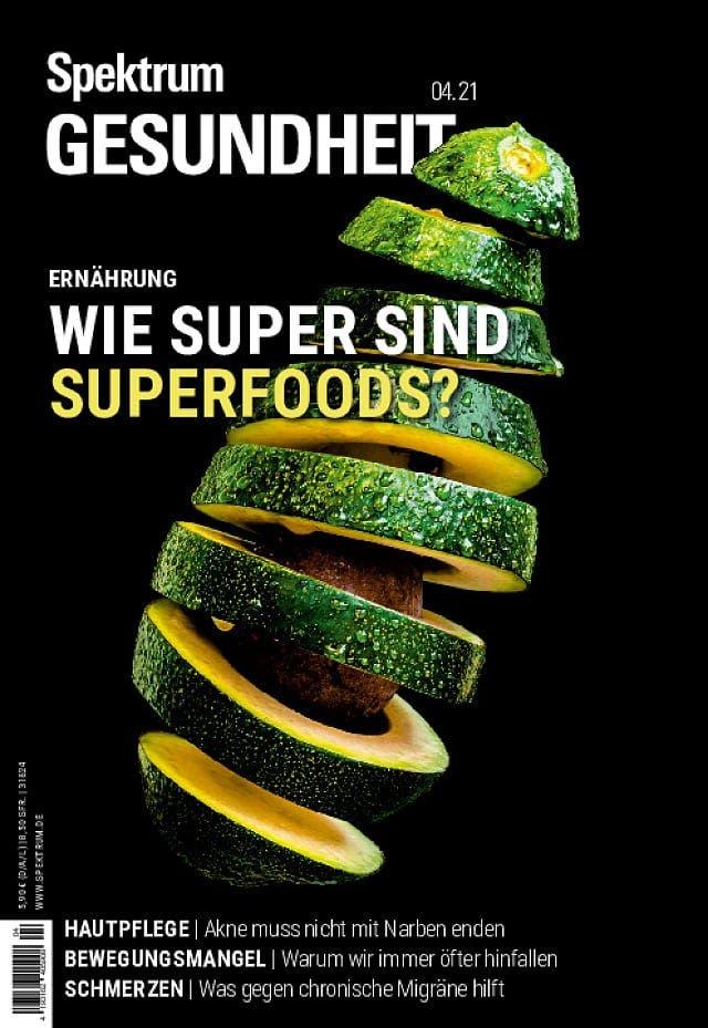 Spektrum Gesundheit:  Wie super sind Superfoods?