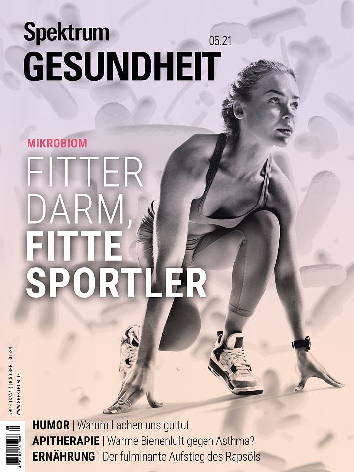 Spektrum Gesundheit:  Fitter Darm, fitte Sportler