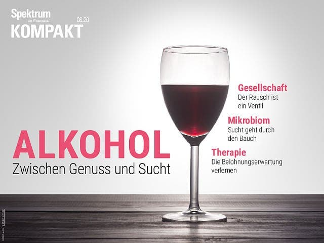 Spektrum Kompakt:  Alkohol – Zwischen Genuss und Sucht