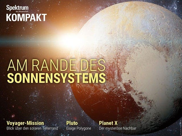 Spektrum Kompakt:  Am Rande des Sonnensystems