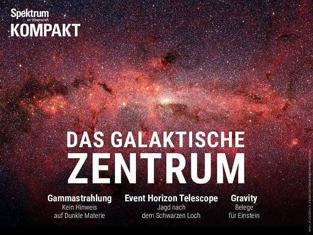 Spektrum Kompakt:  Das galaktische Zentrum