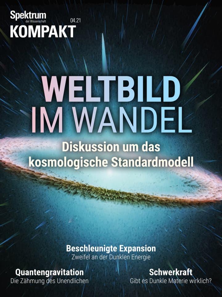 Weltbild im Wandel - Diskussion um das kosmologische Standardmodell