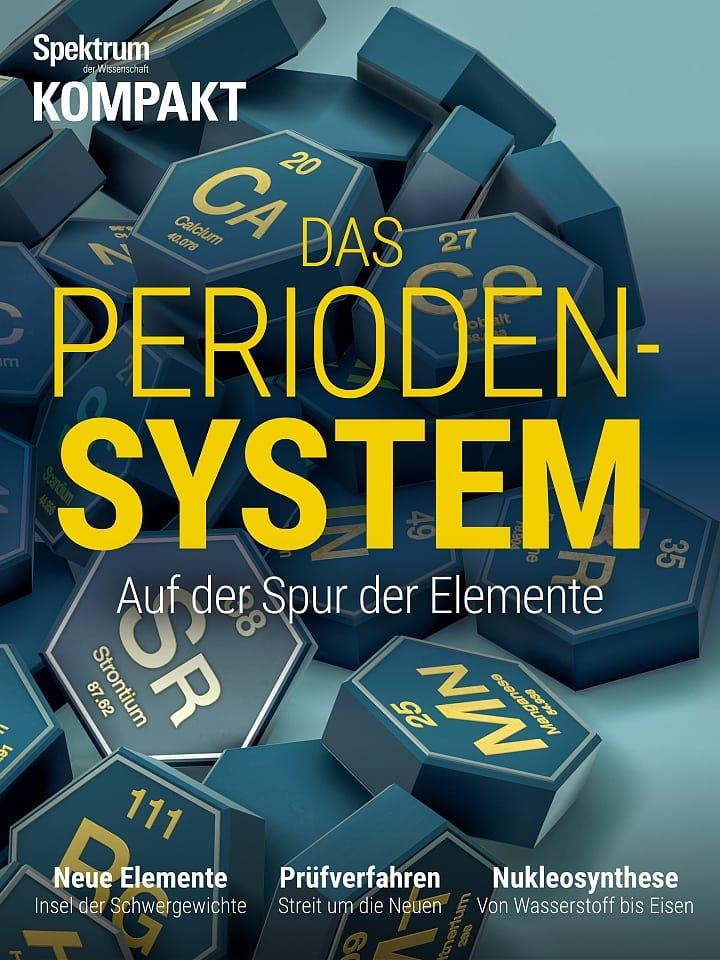 Spektrum Kompakt:  Das Periodensystem – Auf der Spur der Elemente