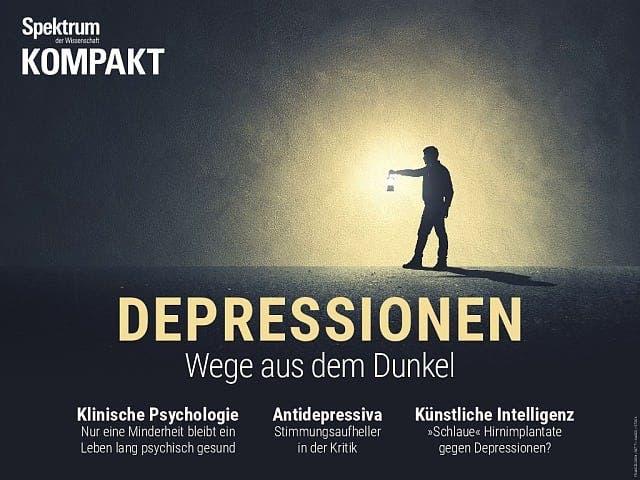 Spektrum Kompakt:  Depressionen – Wege aus dem Dunkel