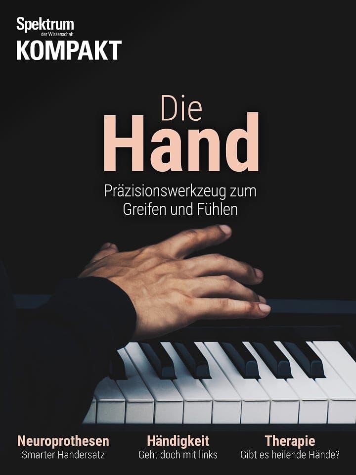 Spektrum Kompakt:  Die Hand – Präzisionswerkzeug zum Greifen und Fühlen