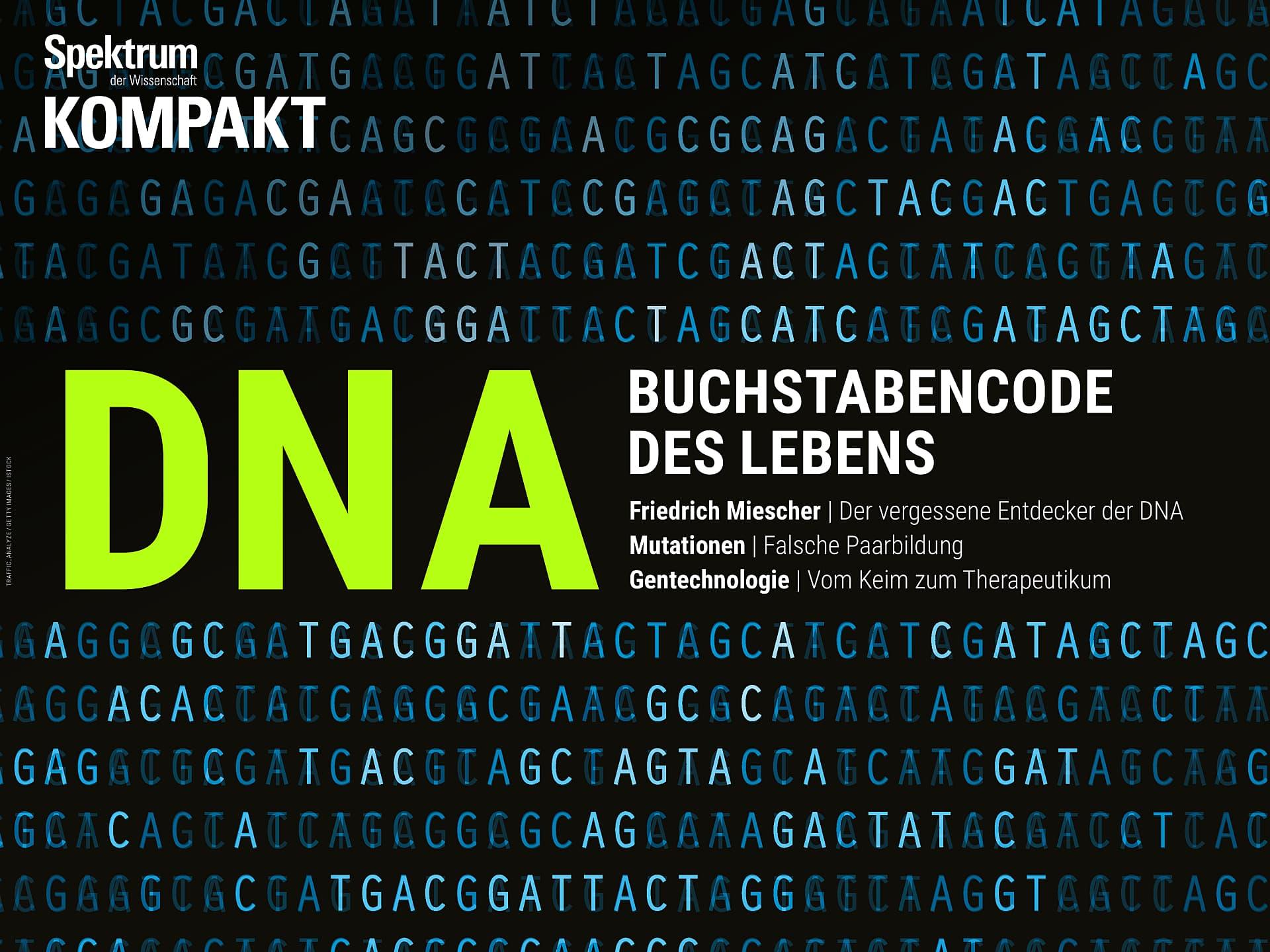 DNA - Buchstabencode des Lebens