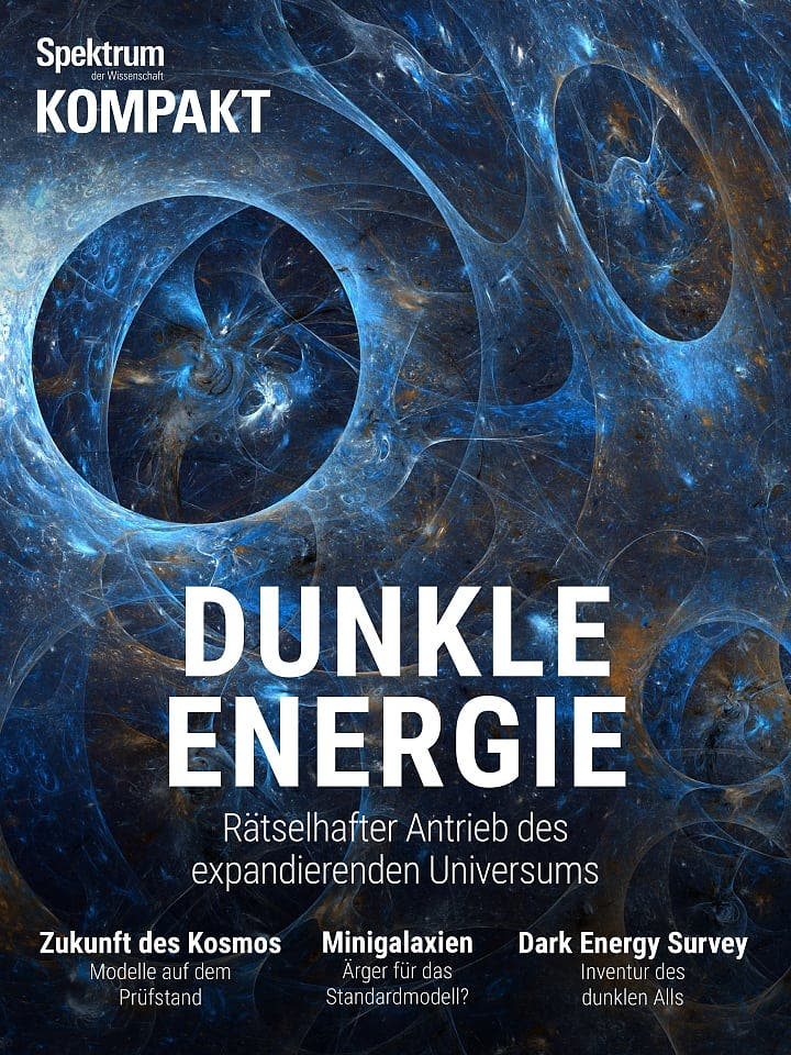 Spektrum Kompakt:  Dunkle Energie – Rätselhafter Antrieb im expandierenden Universum