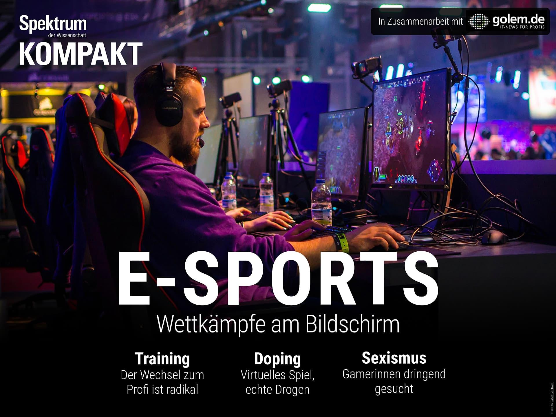 E-Sports - Wettkämpfe am Bildschirm