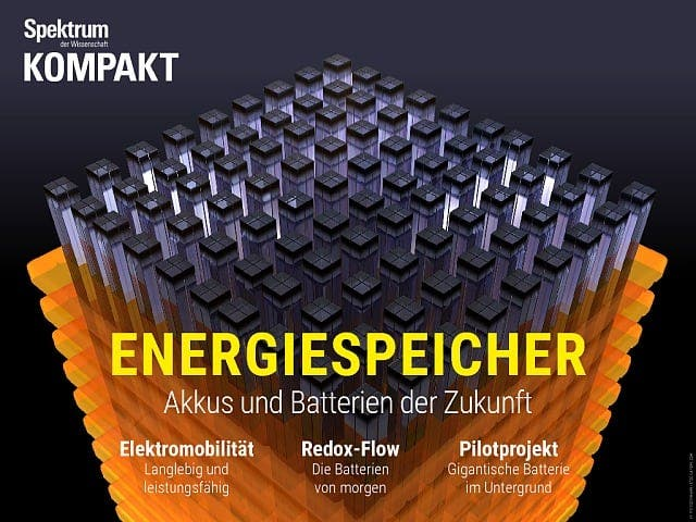 Spektrum Kompakt:  Energiespeicher – Akkus und Batterien der Zukunft