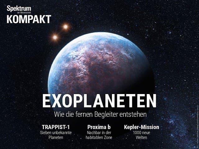 Spektrum Kompakt:  Exoplaneten – Wie die fernen Begleiter entstehen