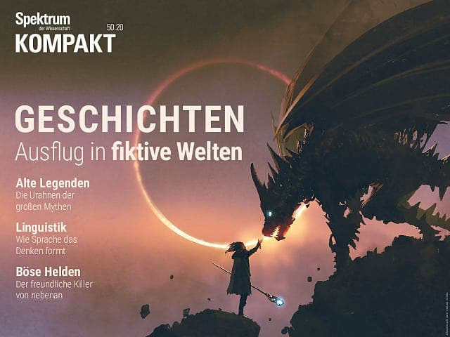 Spektrum Kompakt:  Geschichten – Ausflug in fiktive Welten