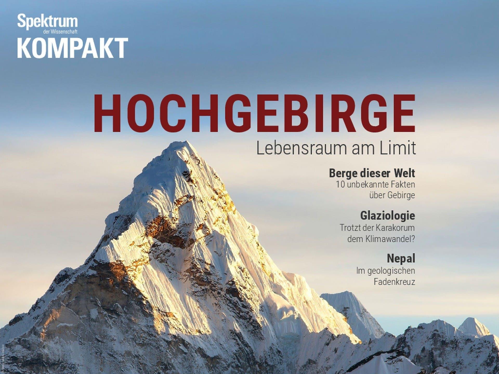 Hochgebirge - Lebensraum am Limit