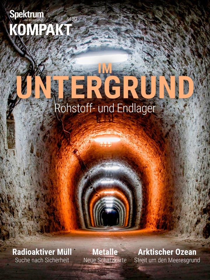 Im Untergrund - Rohstoff- und Endlager