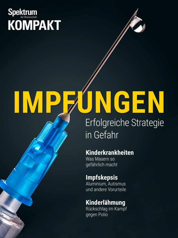 Impfungen - Erfolgreiche Strategie in Gefahr