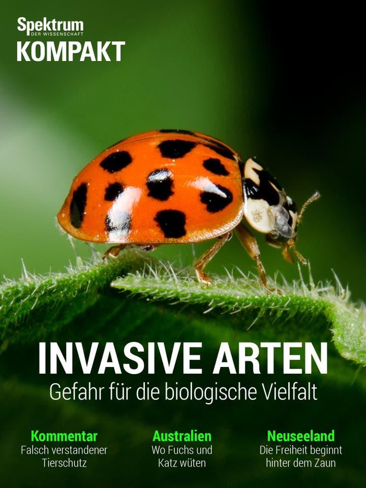 Invasive Arten - Gefahr für die biologische Vielfalt