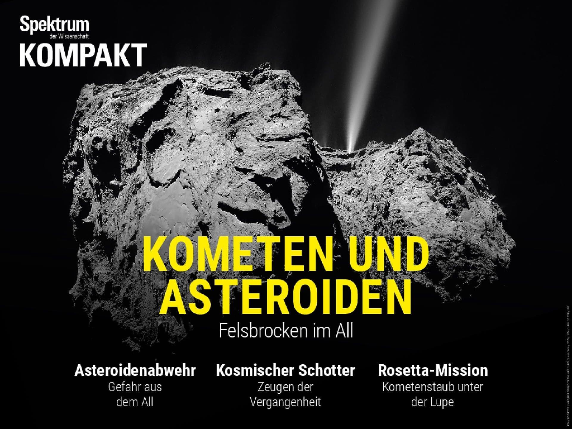 Kometen und Asteroiden - Felsbrocken im All