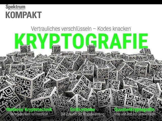 Spektrum Kompakt:  Kryptografie – Vertrauliches verschlüsseln, Kodes knacken