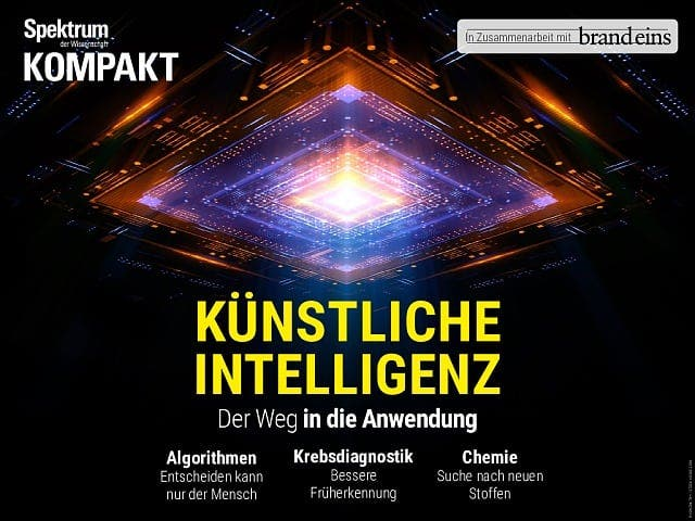 Spektrum Kompakt:  Künstliche Intelligenz – Der Weg in die Anwendung