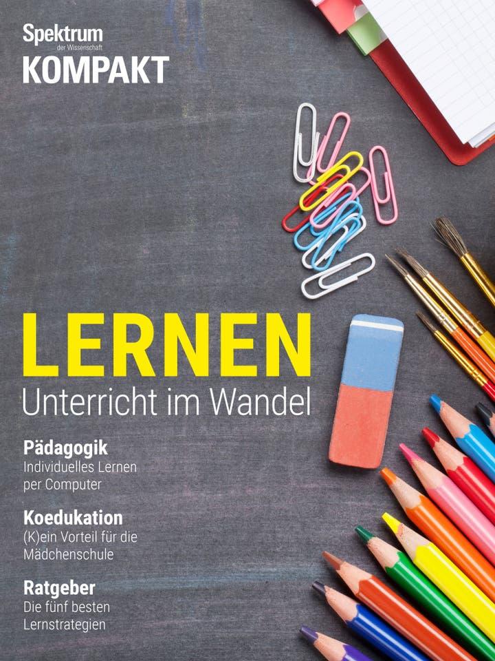 Lernen - Unterricht im Wandel