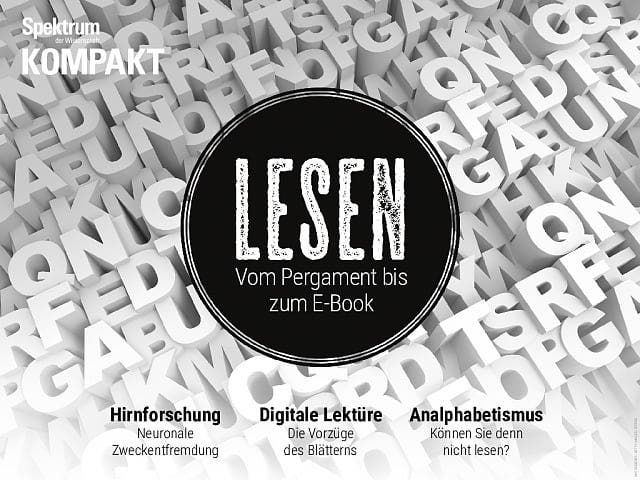 Spektrum Kompakt:  Lesen – Vom Pergament bis zum E-Book