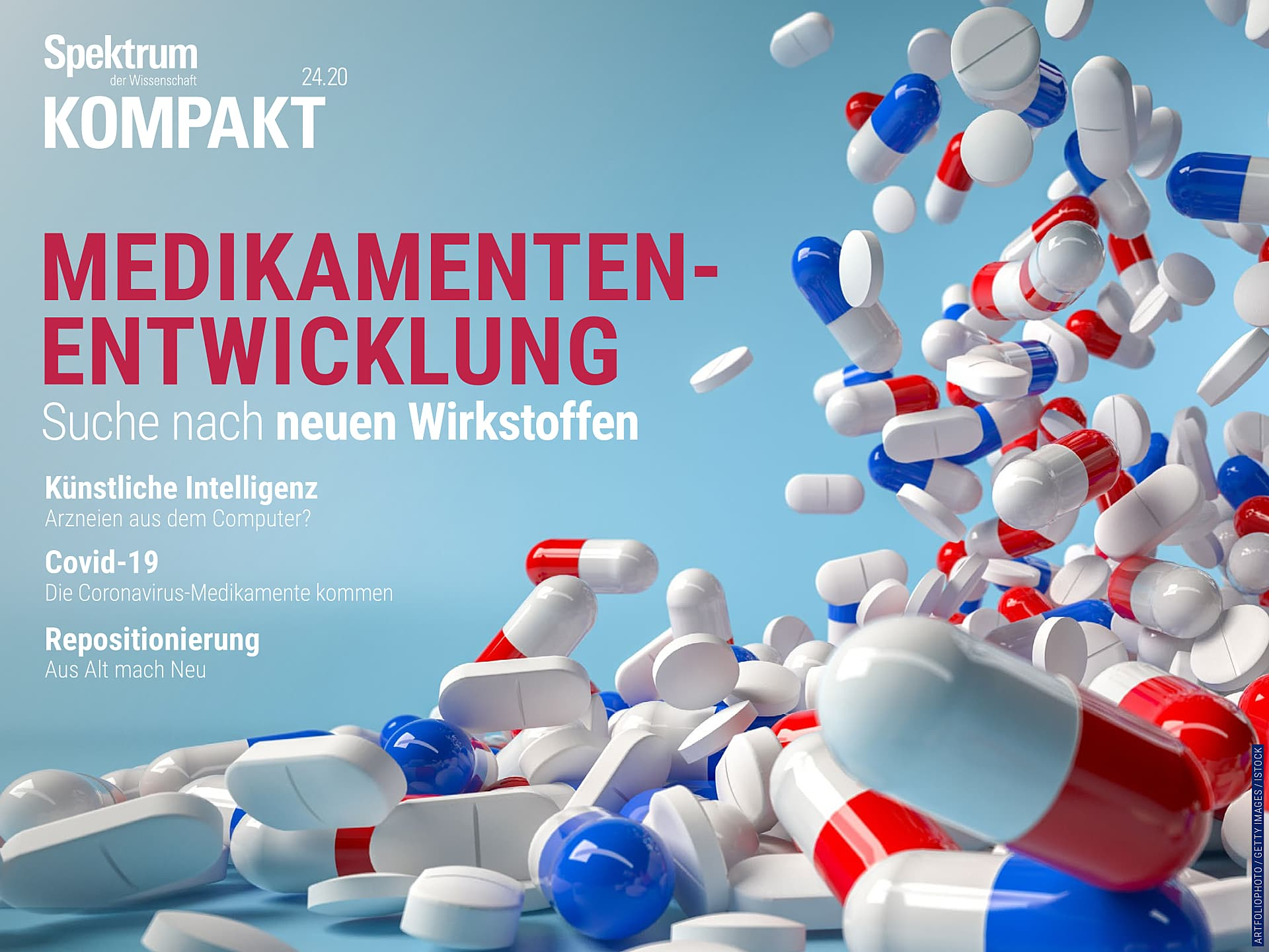 Medikamentenentwicklung - Suche nach neuen Wirkstoffen