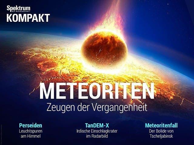 Spektrum Kompakt:  Meteoriten – Zeugen der Vergangenheit