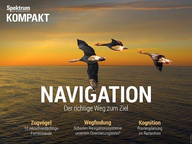 Spektrum Kompakt:  Navigation – Der richtige Weg zum Ziel