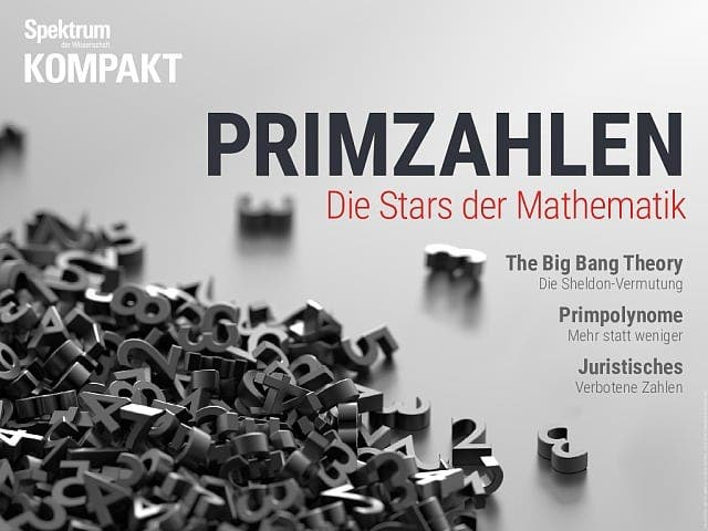 Spektrum Kompakt:  Primzahlen – Die Stars der Mathematik