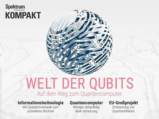 Spektrum Kompakt:  Welt der QuBits – Auf dem Weg zum Quantencomputer