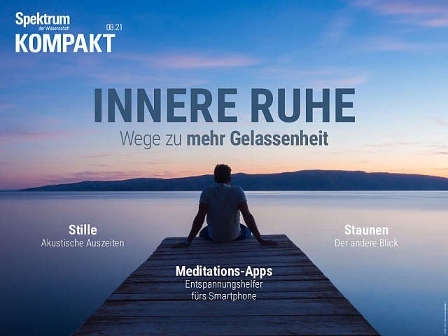 Spektrum Kompakt:  Innere Ruhe – Wege zu mehr Gelassenheit