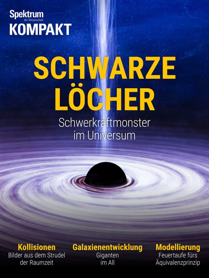 Schwarze Löcher - Schwerkraftmonster im Universum