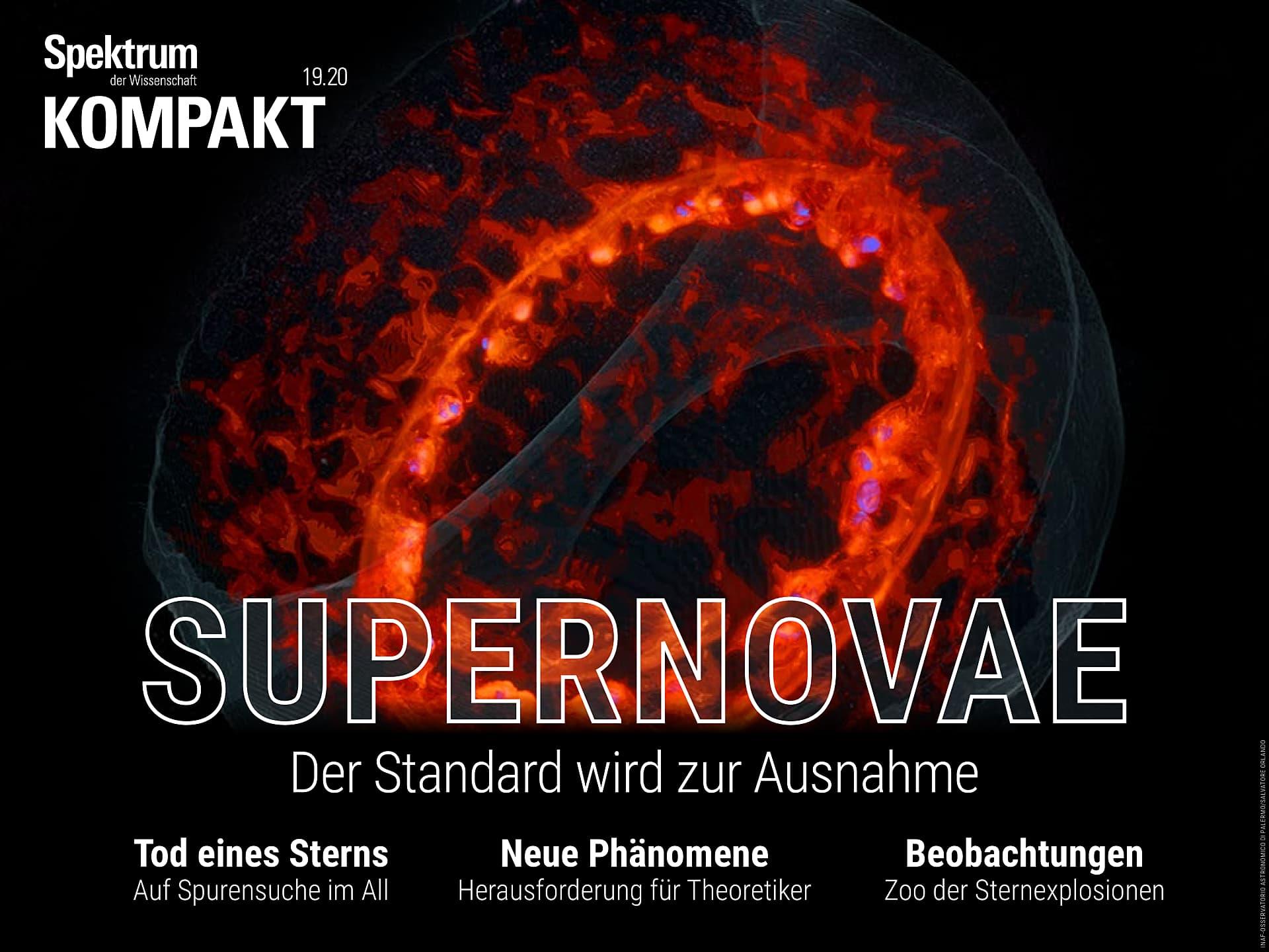 Supernovae - Der Standard wird zur Ausnahme