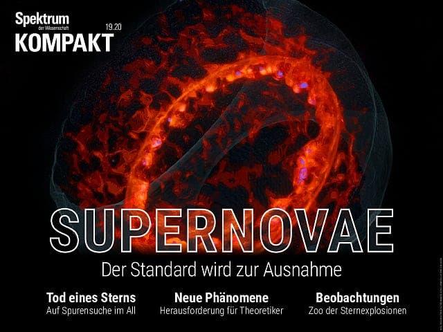 Spektrum Kompakt:  Supernovae – Der Standard wird zur Ausnahme
