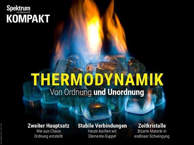 Spektrum Kompakt:  Thermodynamik – Von Ordnung und Unordnung