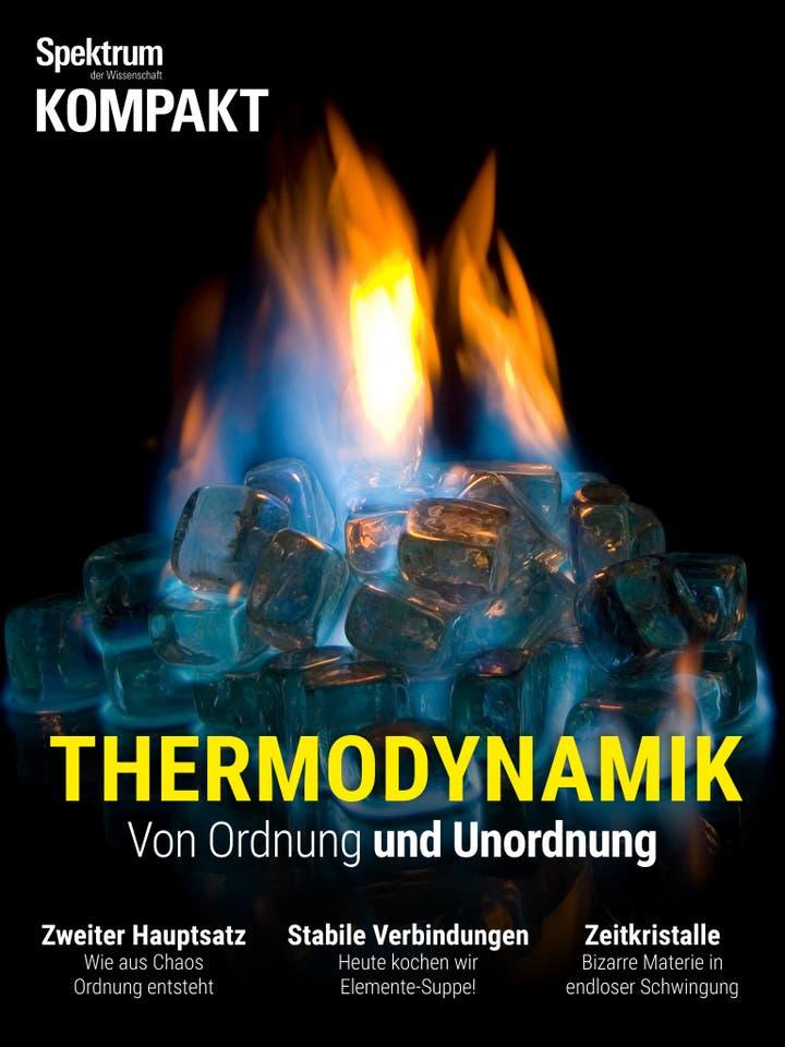 Thermodynamik - Von Ordnung und Unordnung