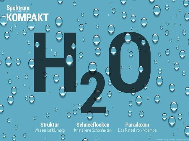Spektrum Kompakt:  Wasser – die rätselhaften Eigenschaften von H2O
