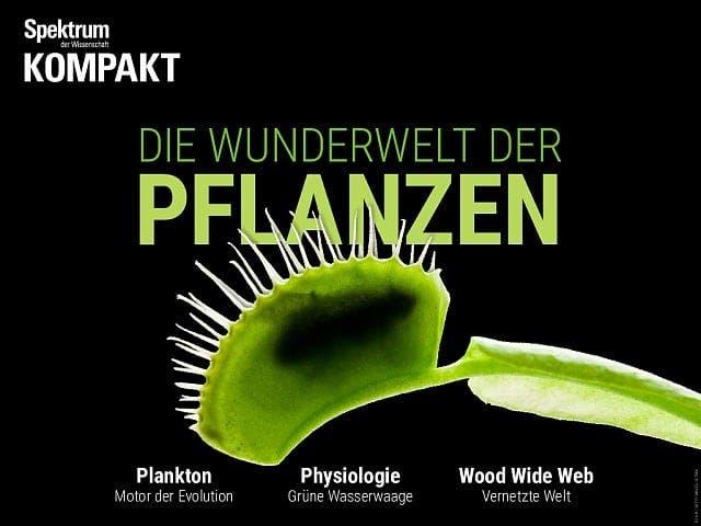 Spektrum Kompakt:  Die Wunderwelt der Pflanzen