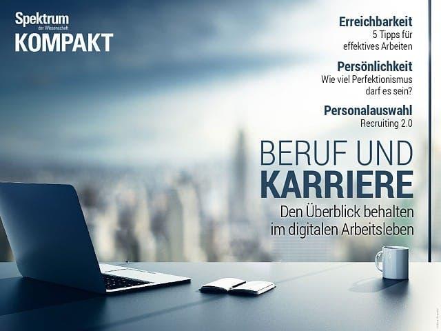 Spektrum Kompakt:  Beruf und Karriere – den Überblick behalten im digitalen Arbeitsleben