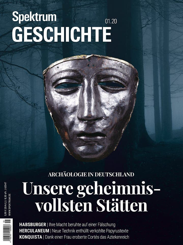 Spektrum Geschichte:  Unsere geheimnisvollsten Stätten